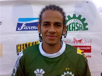 Felipe Almeida em sua última passagem pelo Icasa